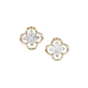Diamond Earrings in 9K Gold 0.29ct