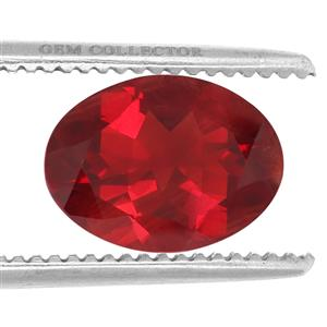 Tarocco Red Andesine GC loose stone  12.65cts