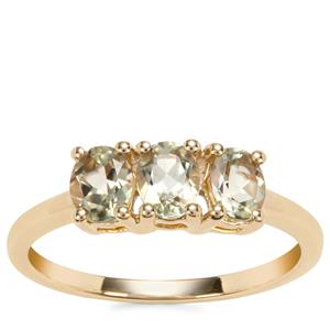 Csarite® Ring in 10k Gold 1.12cts