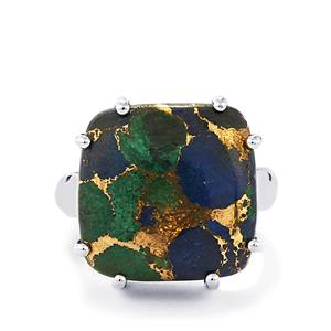 16ct Mojave Azurite Sterling Silver Aryonna Ring