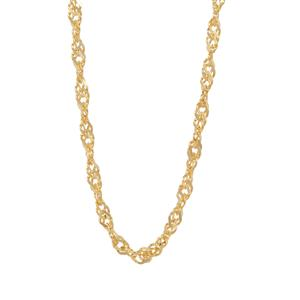 "24"" Midas Couture Singapore Slider Chain 3.05g"