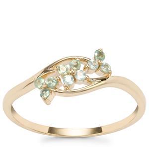 Alexandrite Ring in 10K Gold 0.20ct