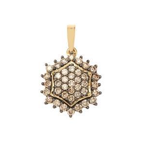 3/4ct Argyle Diamond 18K Gold Tomas Rae Pendant