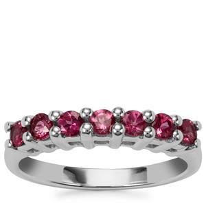 Octavian Garnet Ring in Sterling Silver 0.79cts