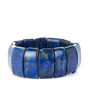 Lapis Lazuli Stretchable Bracelet  543cts