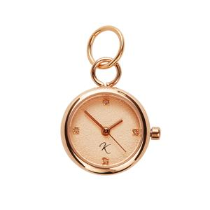 Diamond Rose Tone Stainless Steel Kama Watch