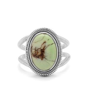 6ct Queensland Chrysoprase Sterling Silver Aryonna Ring
