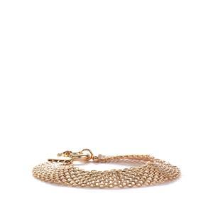9K Gold Altro Bismark Bracelet 7.80g