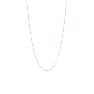 """16/18"""" 9K Gold Classico Diamond Cut Curb Chain 0.75g"""