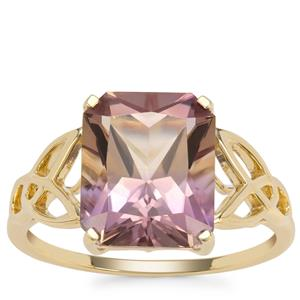 Anahi Ametrine Ring  in 9K Gold 3.91cts