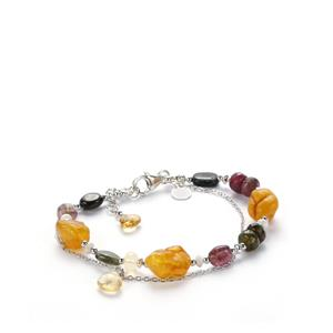 Kaleidoscope Gemstones Sarah Bennett Bracelet in 925