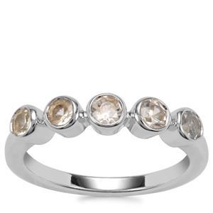 Ceylon Zircon Ring in Sterling Silver 1.24cts