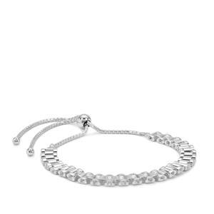 """10"""" Sterling Silver Altro Slider Bracelet 7.24g"""