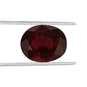 Malawi Garnet GC loose stone  6.40cts