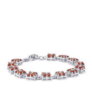 Nampula Garnet Bracelet in Sterling Silver 8.65cts