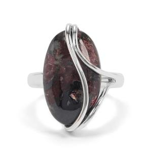 11ct Eudialyte Sterling Silver Aryonna Ring
