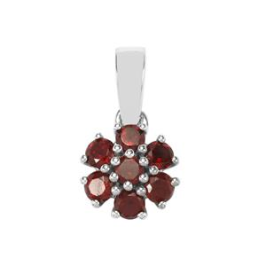 Nampula Garnet Pendant in Sterling Silver 1.07cts