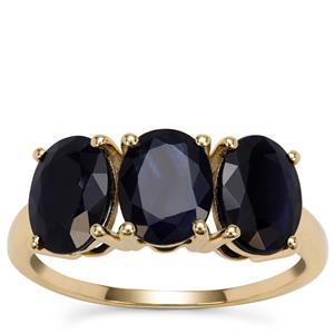 Kanchanaburi Sapphire Ring in 9K Gold 4.48cts