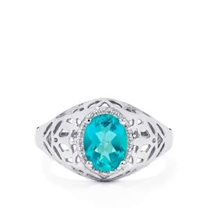 1.54ct Batalha Topaz Sterling Silver Ring