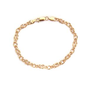 "7.5"" 9K Gold Altro Celtic Bracelet 5.82g"