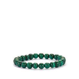Malachite Stretchable Bracelet 128cts