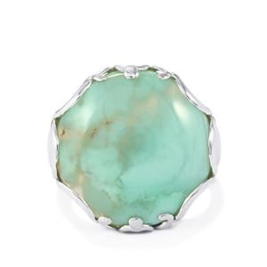 Aquaprase™ Ring  in Sterling Silver 16.90cts
