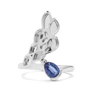 Rachel Bromley 0.92ct Daha Kyanite Sterling Silver Ring