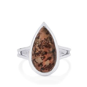 Sonora Dendrite Ring in Sterling Silver 6.07cts