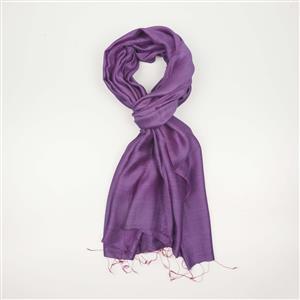 Destello Amethyst Purple Scarf