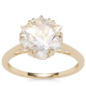 Wobito Snowflake Cut Itinga Petalite Ring in 9K Gold 3.55cts