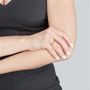 Rio Golden Citrine & Tulelei Sterling Silver Essencia Ring ATGW 0.90cts