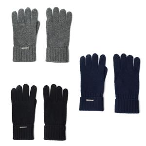 100% Cashmere Gloves with Gemstone Tag
