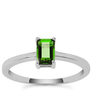 Chrome Diopside Ring in Sterling Silver 0.57ct