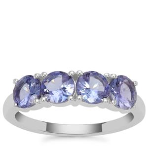 Tanzanite Ring in Sterling Silver 1.90cts