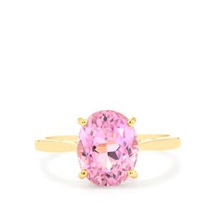 Mawi Kunzite Ring in 10K Gold 4.56cts