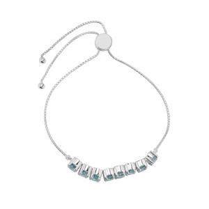 Ratanakiri Blue Zircon Bracelet in Sterling Silver 7.94cts