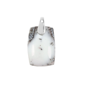 Dendrite Quartz Pendant in Sterling Silver 25.80cts