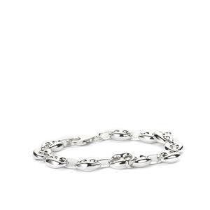 """7.25"""" Sterling Silver Altro Mariner Bracelet 11.90g"""