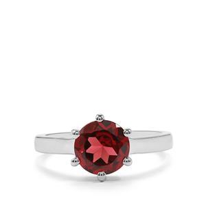 2.31ct Octavian Garnet Sterling Silver Ring