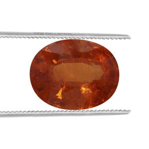 Tangerine Garnet Loose stone  2.90cts