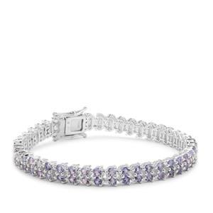 Tanzanite Bracelet in Sterling Silver 10.32cts