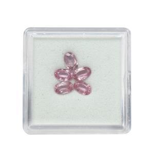 Pink Sapphire Gem Box 1.48cts