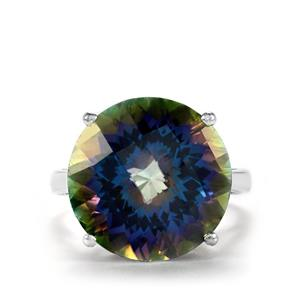 16.93ct Mystic Topaz Sterling Silver Ring
