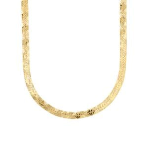 "18"" Midas Dettaglio Herringbone Chain 4.20g"