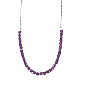 Zambian Amethyst Necklace in Sterling Silver 15.51cts