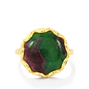 11.59ct Ruby-Zoisite 925 Aryonna Ring