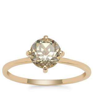 Csarite® Ring in 9K Gold 1.49cts