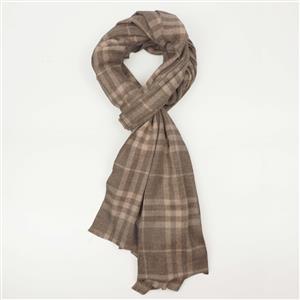 Destello Cashmere Check Blend Womens Woolen Scarf