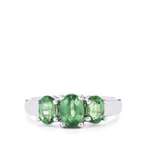 2.21ct Nuagaon Kyanite Sterling Silver Ring