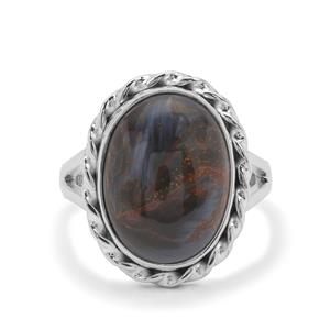 Arizona Pietersite Ring in Sterling Silver 9cts